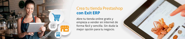 Baner prestashop ERP software de gestión para empresas en Galicia
