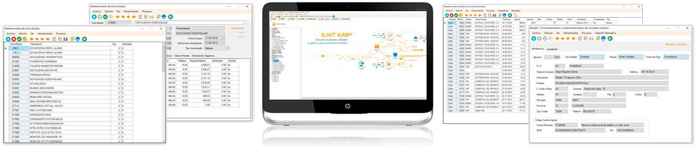 ERP software de gestión para empresas en Galicia Contabilidad 1